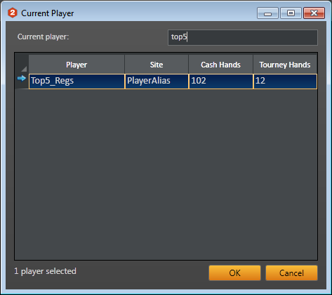 Holdem manager 2 player alias